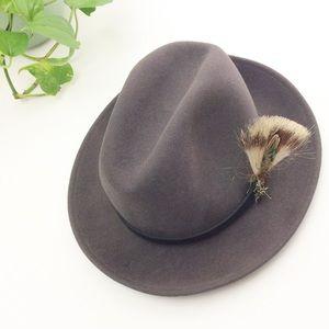 Lite Felt 100% Wool Crushable Water Repellent Hat